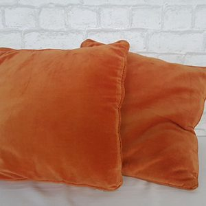 Coussin-orange-carré